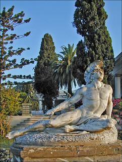 Achille mourant (Achilleion, Corfou, Grèce)