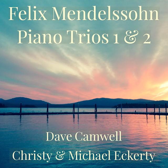 Album cover for Mendelssohn Trios 1&2