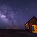 Milky Way over Brian Head summit