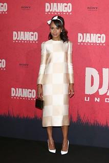 Kerry Washington White Pumps Celebrity Style Women's Fashion