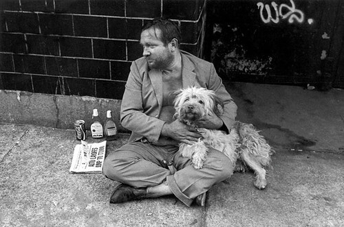 Jill Freedman, Rummy and Coke,  New York City, 1979
