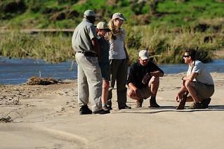 Walking Safari at Jock Safari Lodge
