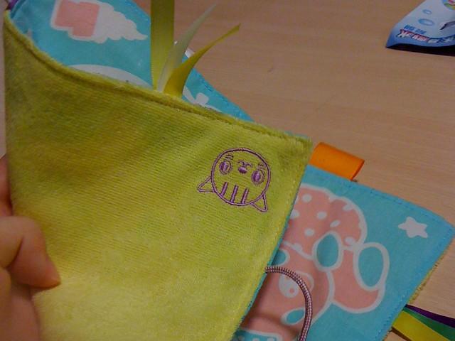 樂雅的安撫玩具:沙沙手帕