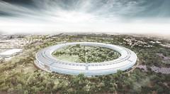 Гонка между Facebook, Apple, Google и Amazon за лучший кампус набирает обороты