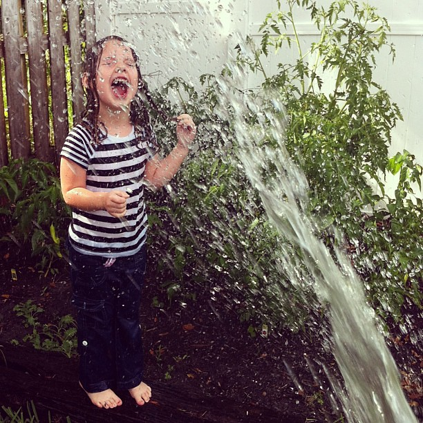 """water me too, momma!"" #jonahbonahgarden2013"