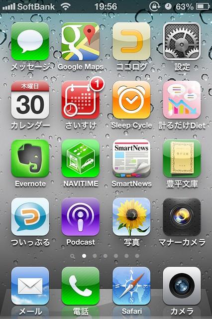 iPhone 4SをiOS6にアップデート by haruhiko_iyota