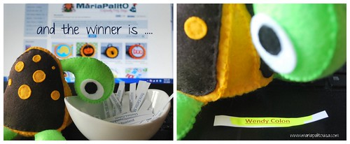 and the winner for the Felt Turtle is .... by Mariapalito