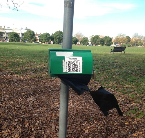 QR in Edinburgh Gardens by Hecuba's Story