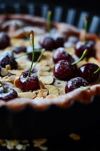Cherry cinamon clafoutis