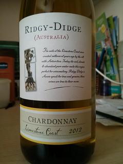 Ridgy-Didge Chardonnay