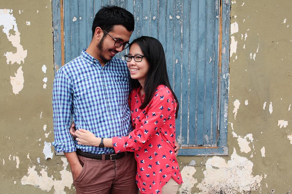 Zahirah + irman-053