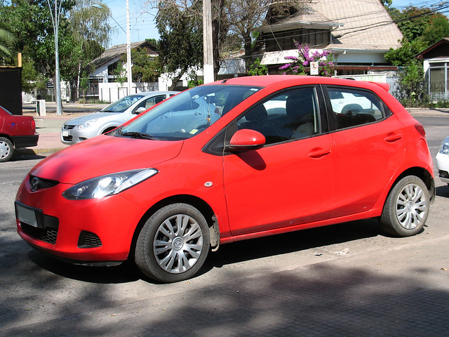 A fuel-efficient used Mazda Demio (Mazda2) supermini car from online used car dealer BE FORWARD.