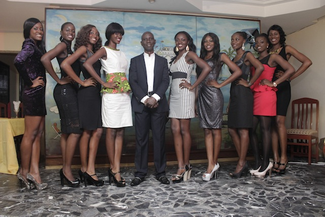 Uncle Ebo meets Miss Ghana 2013 finalists (8)