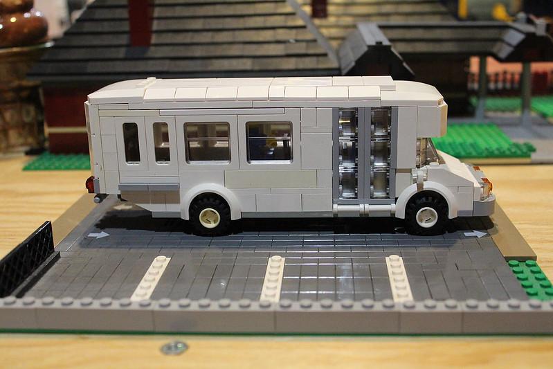 Moc Transit Airport Shuttle Lego Town Eurobricks Forums