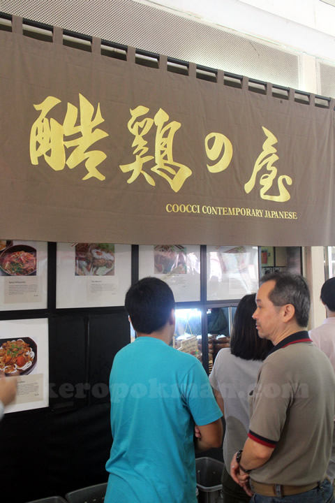 Coocci Contemporary Japanese @ Commonwealth Crescent Market