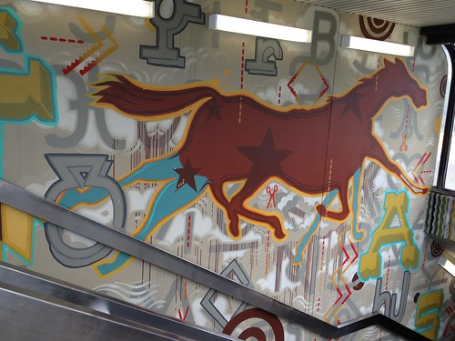 Mural in the Metro by susanvg