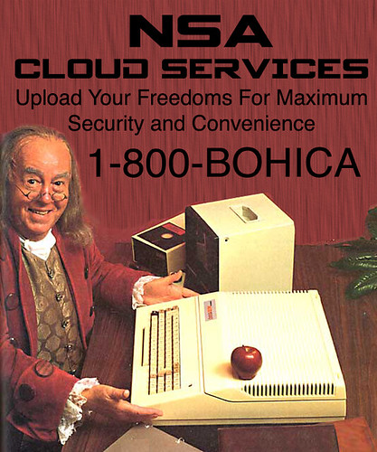 NSA CLOUD SERVICES by WilliamBanzai7/Colonel Flick
