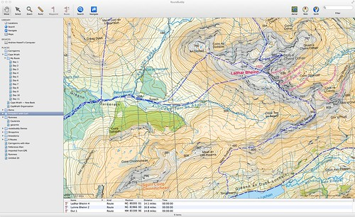 Harvey Mountain Map — Knoydart