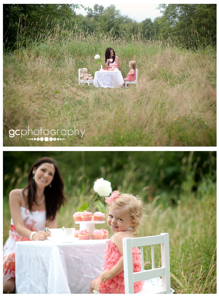 Two year old birthday photo session