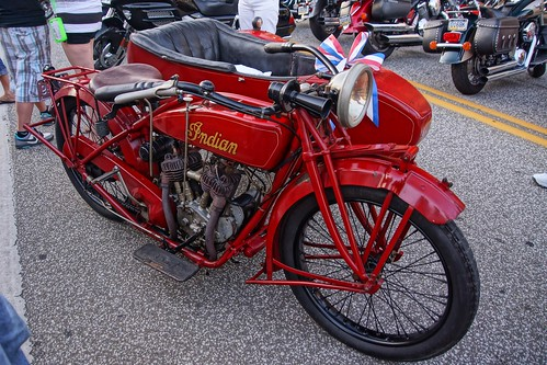 Indian Motorcycle with side car