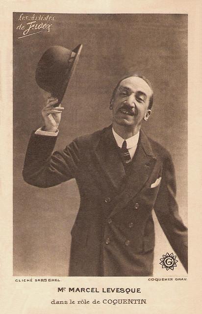 Marcel Levesque in La nouvelle mission de Judex