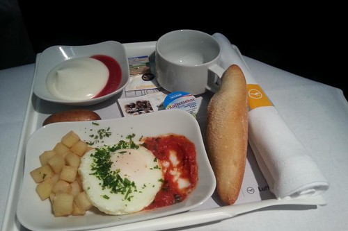 Travel: Lufthansa Business Class Food - Liberty London Girl