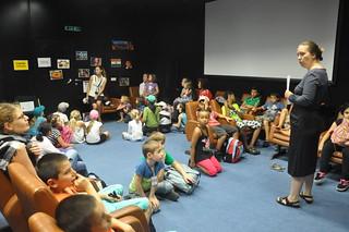 Holiday games for children at the UN in Vienna  (Ferienspiel in der UNO) 1 July - 30 August