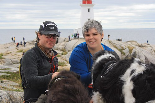 Kay and Dachary at Peggy's Cove