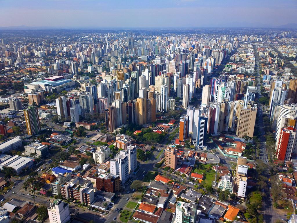 Imagem Aérea de Curitiba - Paraná