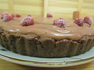 Tart - Chocolate Mousse Tart with Raspberries