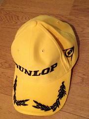 Dunlop winnner's cap.