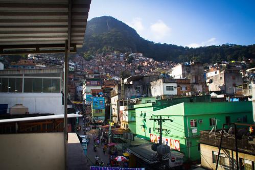 Day 2: Via Apia, Rocinha