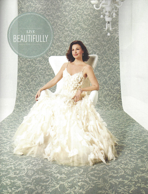 smug ashley judd for karastan elle decor october 2013 drollgirl