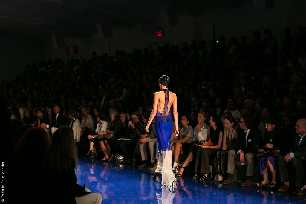 Vera Wang Show at New York Fashion Week