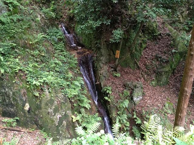 滝谷山 滝まわりコース 七段の滝