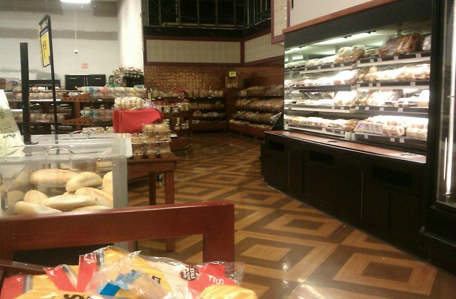Corner Bakery Tiles : Another view of albertsons bakery floor tile flickr