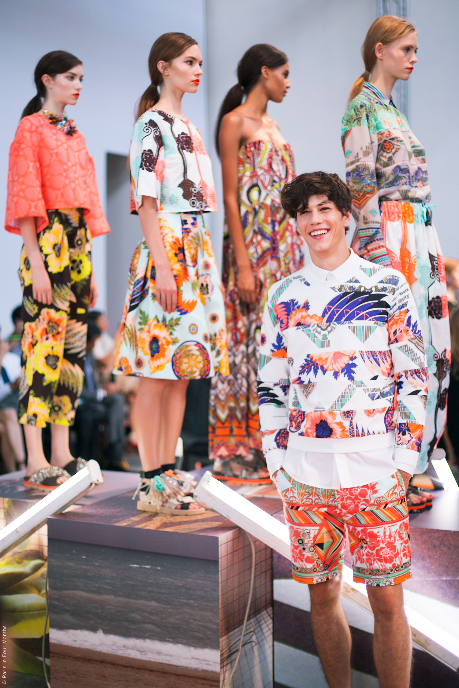MSGM Fashion Show in Milan