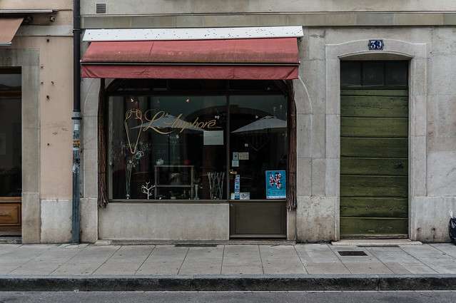 Shopfront, Carouge, Geneva