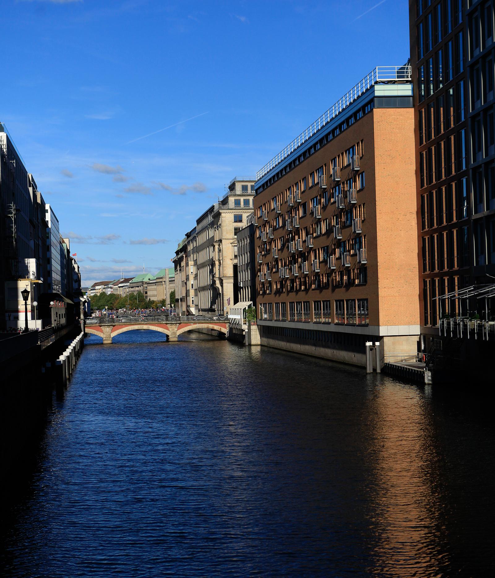 漢堡市內運河