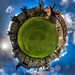 Framlingham Castle Little Planet by Mark Seton