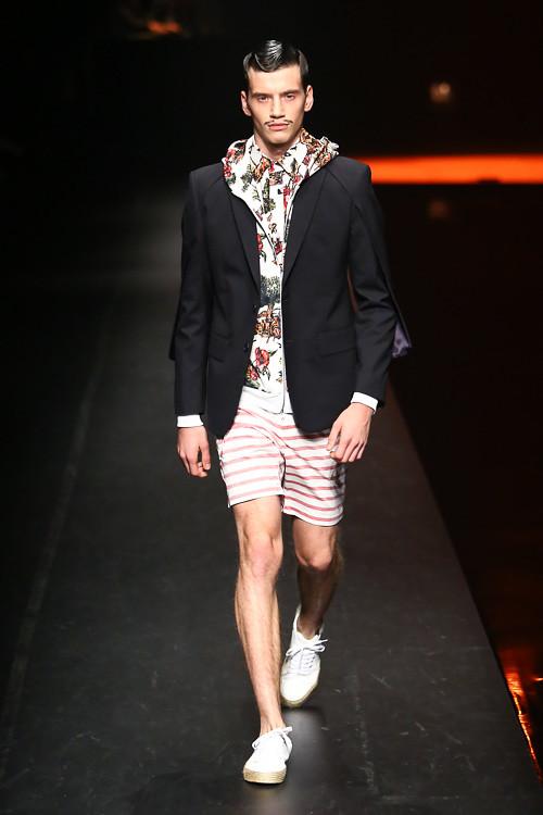 SS14 Tokyo yoshio kubo030_Justin Sterling(Fashion Press)