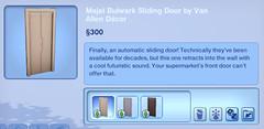 Majel Bulwark Sliding Door by Van Allen Decor