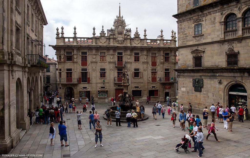 Photo de la Plaza das Praterias