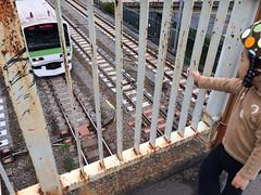 跨線橋 2013/10