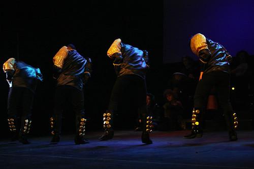 Bolivianska dansgruppens smittande intensitet.