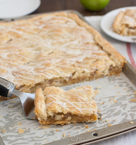 Cranberry Apple Slab Pie Recipe — Dishmaps