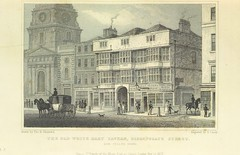 """British Library digitised image from page 27 of """"Metropolitan Improvements ... From original drawings by T. H. Shepherd, etc"""""""