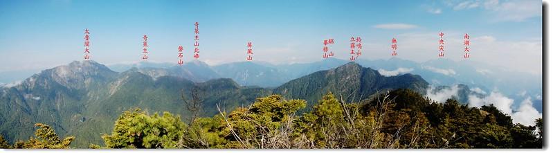 奇萊東稜(From 帕托魯山) 4-1