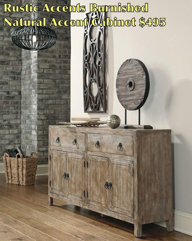 Rustic Accents All American Mattress & Furniture