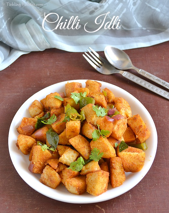 Chilli Idli Fry Recipe